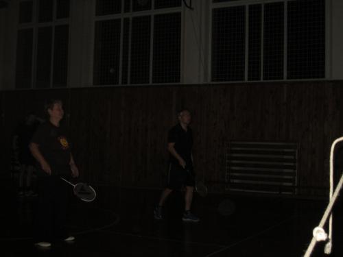 Noční turnaj v badmintonu - 24.11.2018