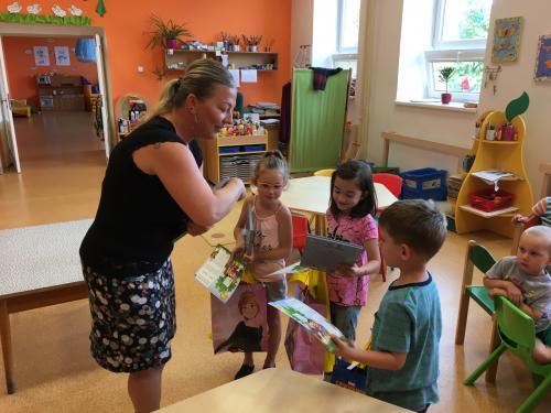 Slavnostní vyřazení předškoláčků z MŠ Razová - 22.6.2021