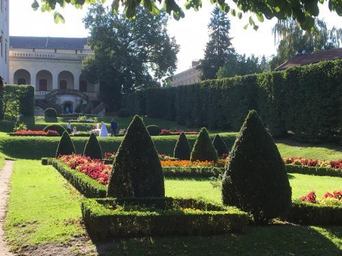 Zájezd do Kroměříže - Floria podzim a Zámek Kroměříž