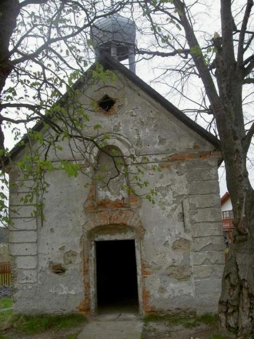 kaple předrekonstrukcí