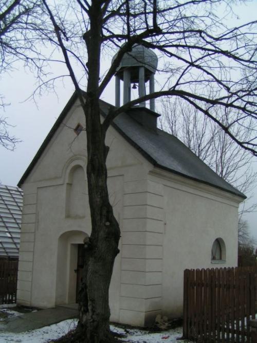 kaple poumístění zvonu